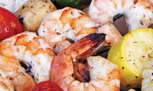 Grilled Shrimp Kebobs